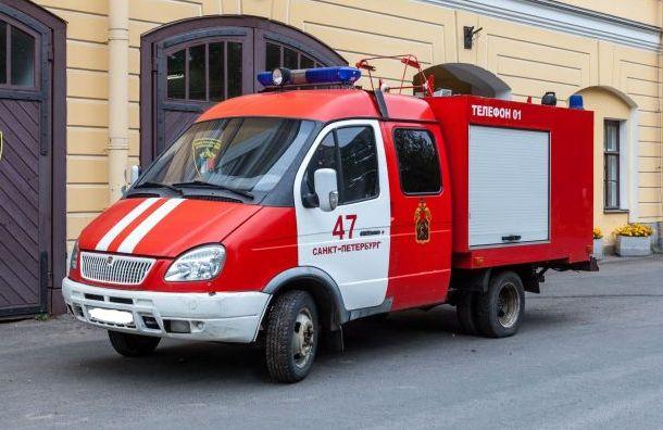 Таинственный житель петербурга приобрел на аукционе пожарный автомобиль