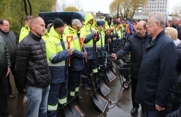Глава Жилищного комитета проверил готовность Невского района к зиме