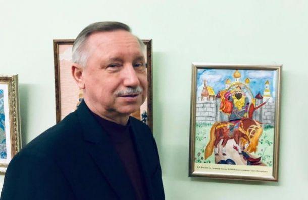 Беглов лидирует на выборах губернатора после подсчета 0,1% голосов