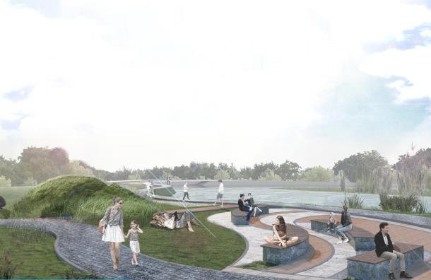 Благоустроенный сад у Ивановского карьера откроется в сентябре