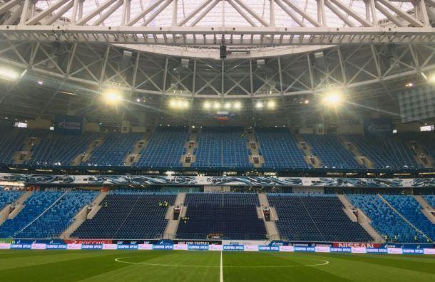 На «Газпром Арене» заменят газон после чемпионата Европы