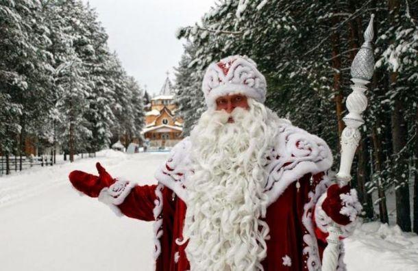 Дед Мороз приземлится на Дворцовой площади на волшебном самолете