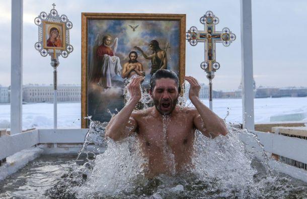 Крещенские купания в Санкт-Петербурге под угрозой