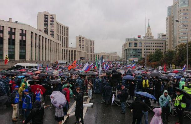«Белый счетчик» зафиксировал почти 50 тысяч участников митинга в Москве