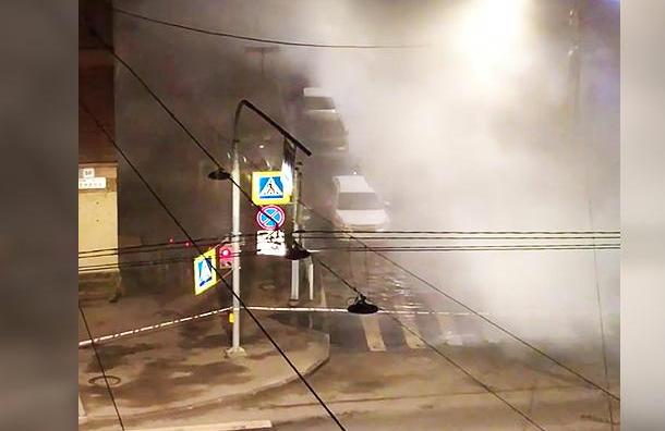 Свыше 50 домов остались без тепла в Колпинском районе
