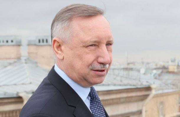 Беглов поддержал идею назвать безымянный сквер на Стачек Ленинградским