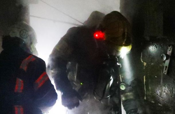 Из горящего детсада в Колпино эвакуировали 177 детей