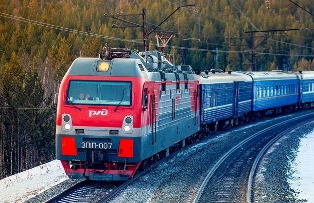 Пять поездов прибыли в Санкт-Петербург с опозданием из-за поломки