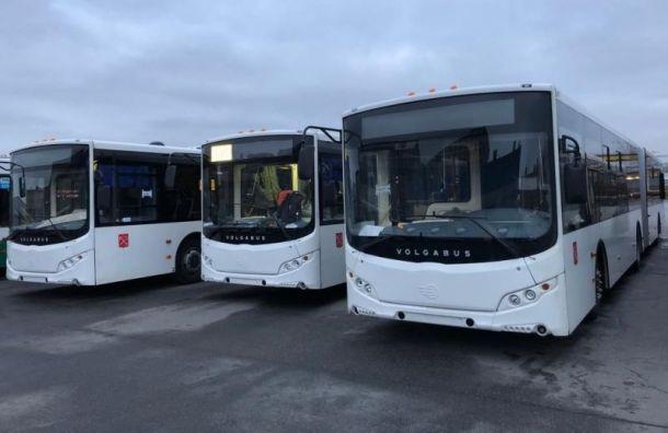 Электробус задымился в Приморском районе