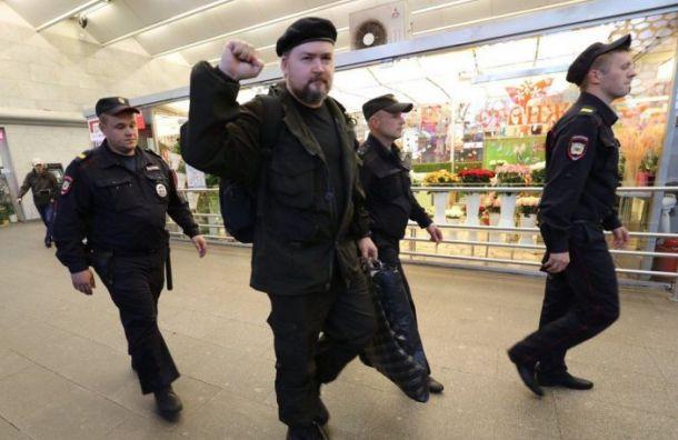 Активиста Вадима Казака задержали на выходе из метро