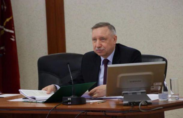Избирательный счет Беглова за месяц подрос на 16 млн