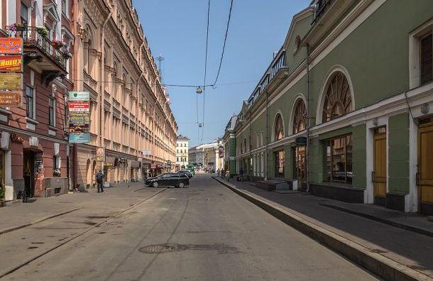 Думская стала пешеходной по праздникам и выходным