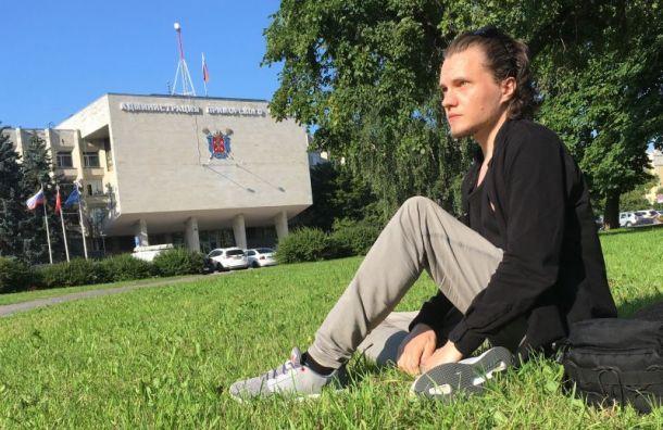 Активиста Павла Чупунова задержали на открытии детской площадки