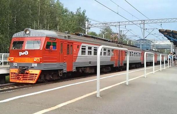 Под Петербургом электричка совершила наезд на насмерть мужчину