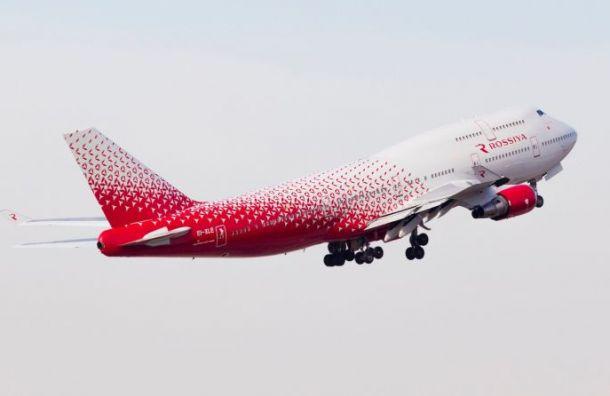 Мужчина показал гениталии пассажирам самолета, летевшего в Санкт-Петербург