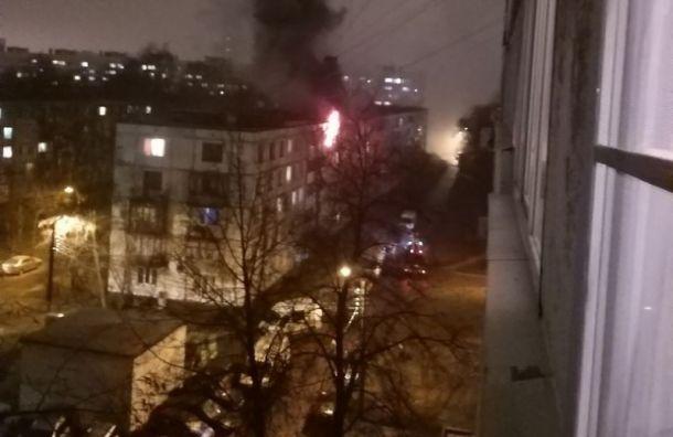 У пенсионерки горела квартира на ул. Партизана Германа