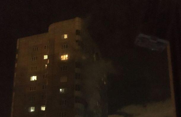 Из горящего дома на Малой Бухарестской эвакуировали около 50 человек