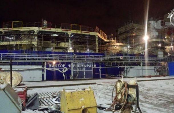 Двух рабочих будут судить за пожар на ледоколе «Виктор Черномырдин»