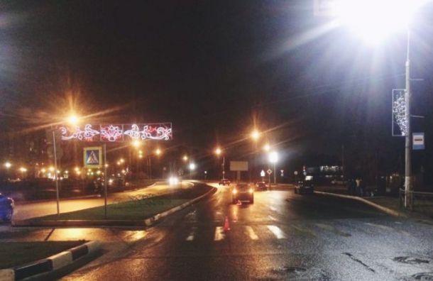 Семилетнюю девочку сбили на пешеходном переходе в Ленобласти