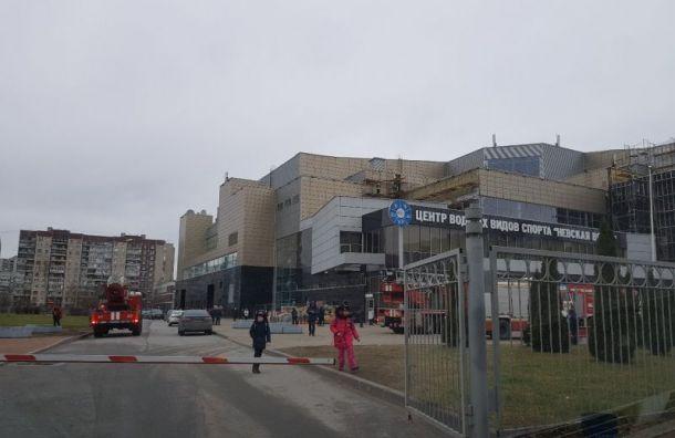 Бассейн «Невская волна» загорелся в Невском районе