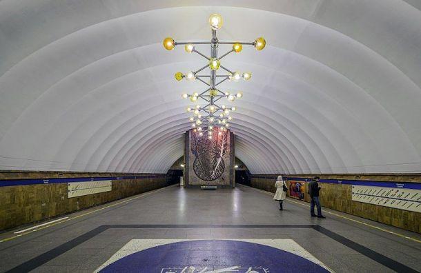 Вход на станцию метро «Озерки» ограничат на два месяца