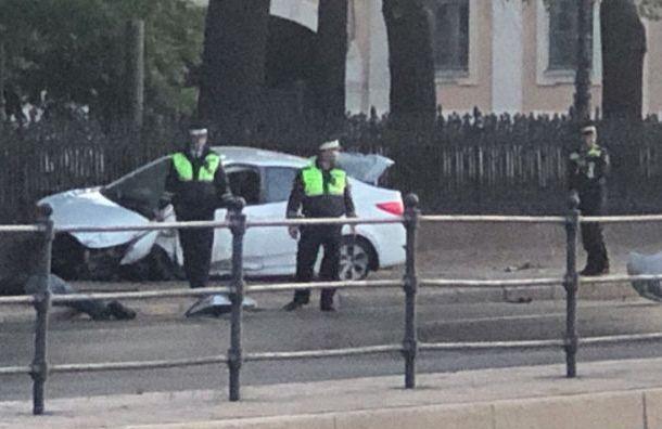 Уходивший от полицейской погони водитель Hyundai был пьян