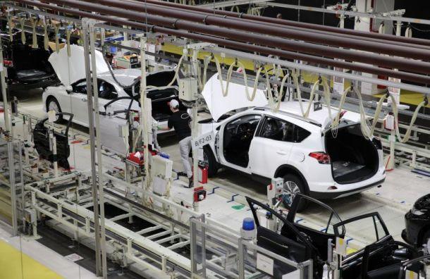 Toyota вложит в развитие завода в Санкт-Петербурге 20 млрд руб.