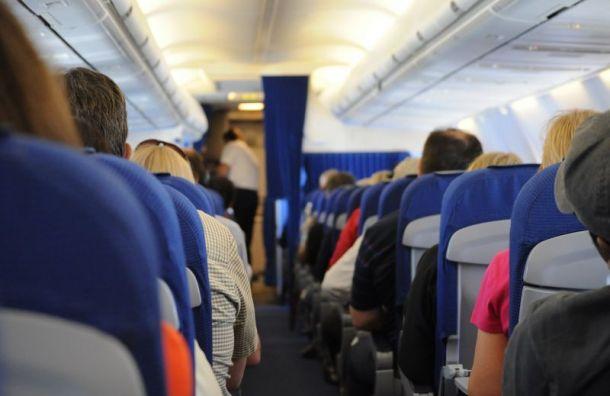 Пьяный мужчина подрался на борту самолёта Санкт-Петербург — Москва