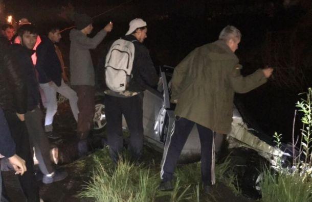 Авария в Усть-Славянке унесла жизнь человека и спугнула собаку