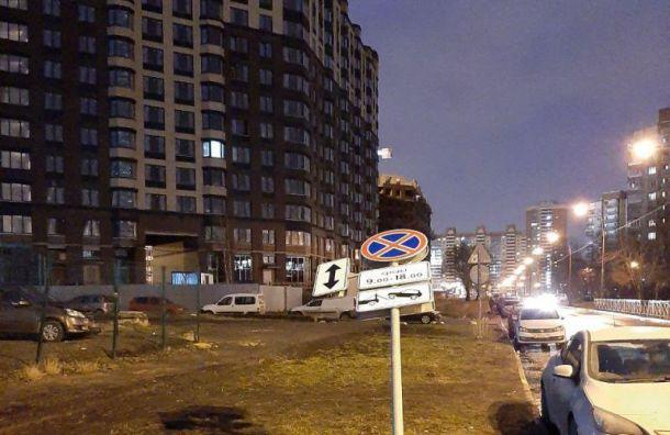 МЧС рассказало, сколько деревьев и дорожных знаков пострадало от ветра