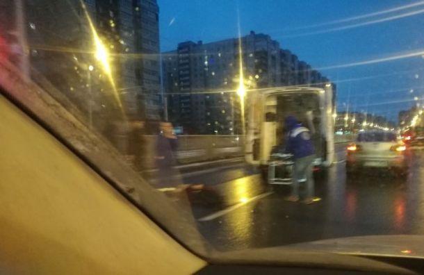 На проспекте Наставников сбили насмерть пешехода