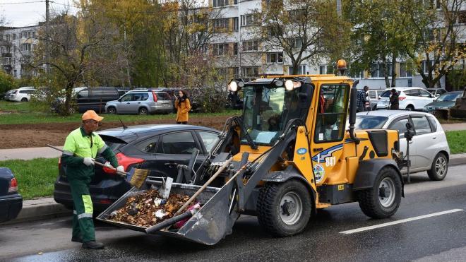 Из-за сильного ветра в Петербурге аварийщики заступили на дежурство