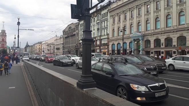 Из-за съемок фильма в центре Петербурга ограничат движение транспорта