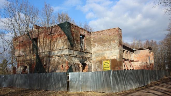 Руины усадьбы Зубовых