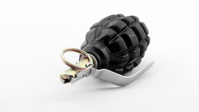 Житель Фрунзенского района обнаружил у своей квартиры гранату и записку с угрозой
