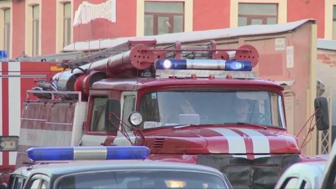 Двух пенсионеров спасли из горящей квартиры в Вяземском переулке