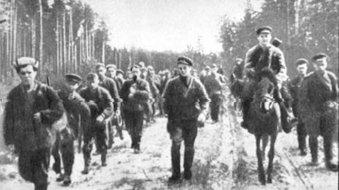 Городской архив оцифровал документы о ленинградских партизанах