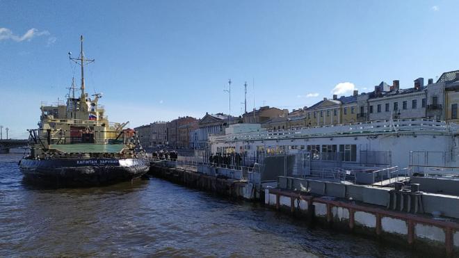 В Петербурге стартовал Фестиваль ледоколов: фото из капитанской рубки