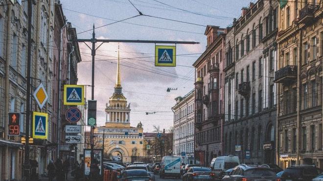 В среду влияние на погоду в Петербурге окажут сразу два циклона