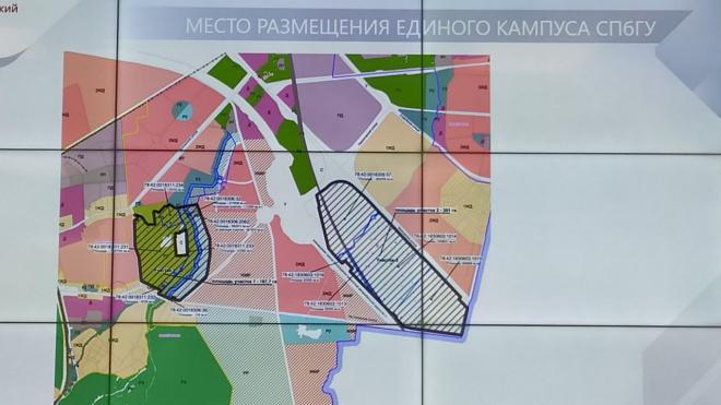 Смольный обсуждает строительство метро до кампуса СПбГУ в Пушкине