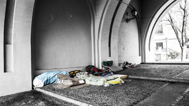 Названо число бездомных, проживающих в Петербурге