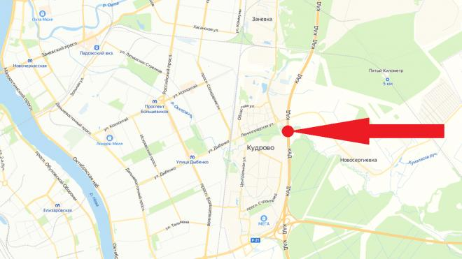 На КАД перекроют часть дороги между Колтушским и Мурманским шоссе