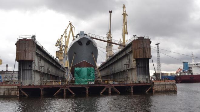На Северной верфи заложили фрегаты «Адмирал Юмашев» и «Адмирал Спиридонов»