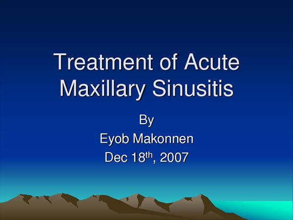 Here is How You can Fight Acute Sinusitis 623331802