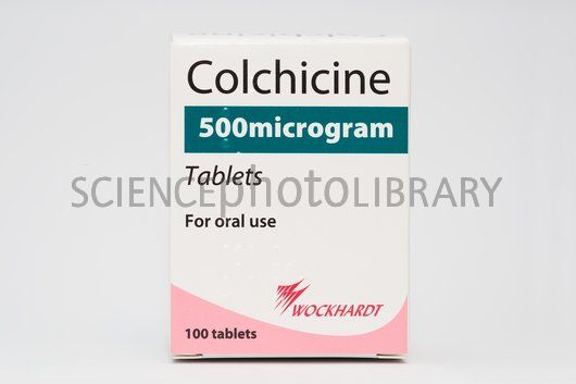 are Natural Gout Treatments More Effective Than Medication? C-Colchicine-gout-drug-SPL2