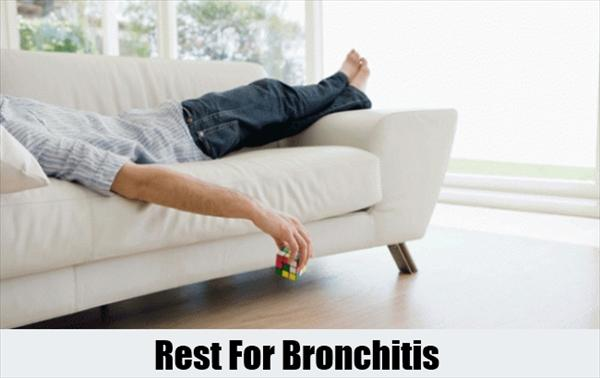 Bronchitis. Cure Bronchitis Quickly. 8 Home Remedies  Rest