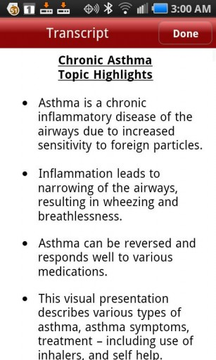 Bronchial Infection and Asthma and Chronic Chronic-asthma-s-x