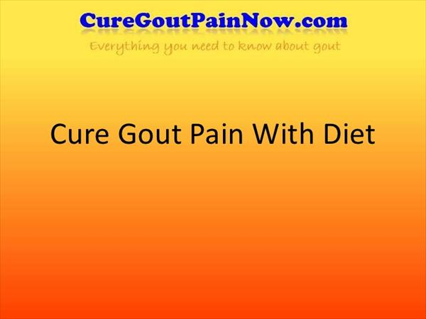 Gout Diets: How Much Do You Know about Gout and Diet Cure-gout-pain-with-diet