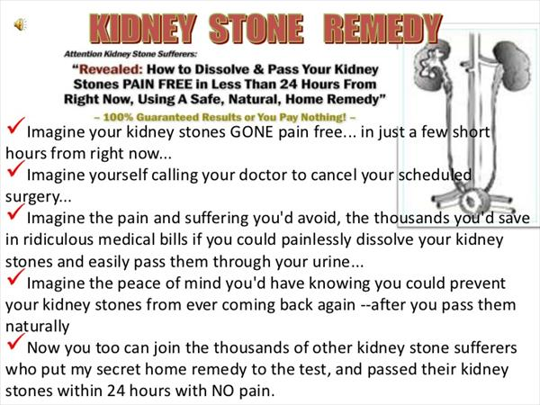 Stop Taking Pain Killers and Finally Treat Gout Cure-kidney-stone