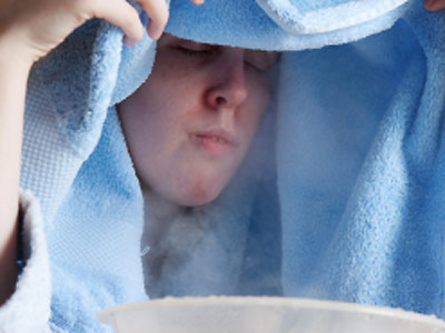 Severe Pan Sinusitis and How May a Nose Nebulizer Help Your Essential-oils-steam-inhalation